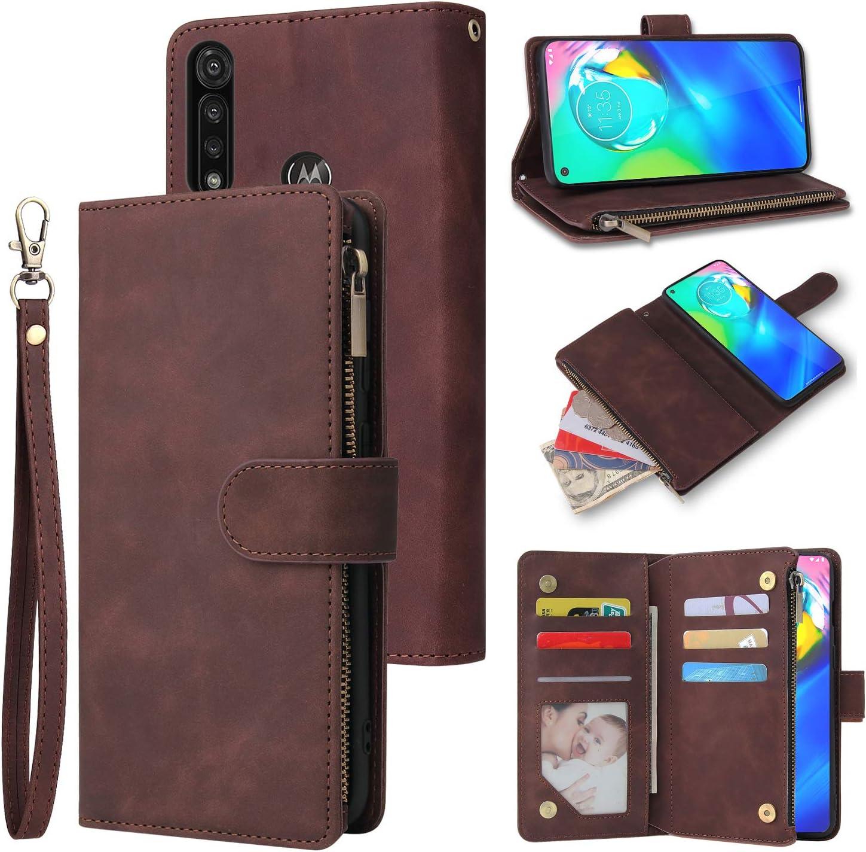 New color HATA Moto G Stylus Mesa Mall Wallet Folio Credi Leather case