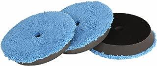 SPTA Microfiber Fast Finishing Pad 3 Pcs 6 inch (150 mm) Polishing Pads, Buffing Compound Pads Kits for 5 Inch (125mm) DA/RO Car Polisher