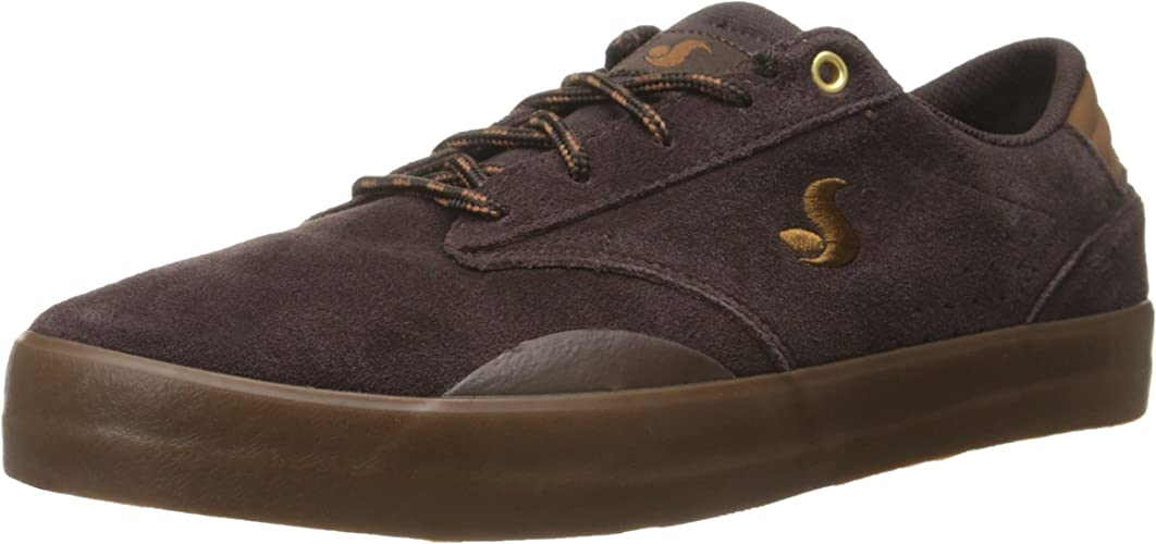 Daewon 14 Coffee Suede - Couleur - Marron, Pointure Homme - 44.5 (10.5us)