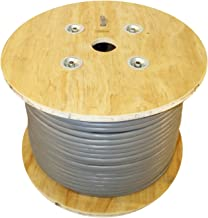 Infinity Cable Cat5e CMR Riser (25 Pair) 350MHz, 500 Feet, UTP, 24AWG, Solid, 100% Bare Copper, UL Certified, Bulk Ethernet Cable Reel, Gray