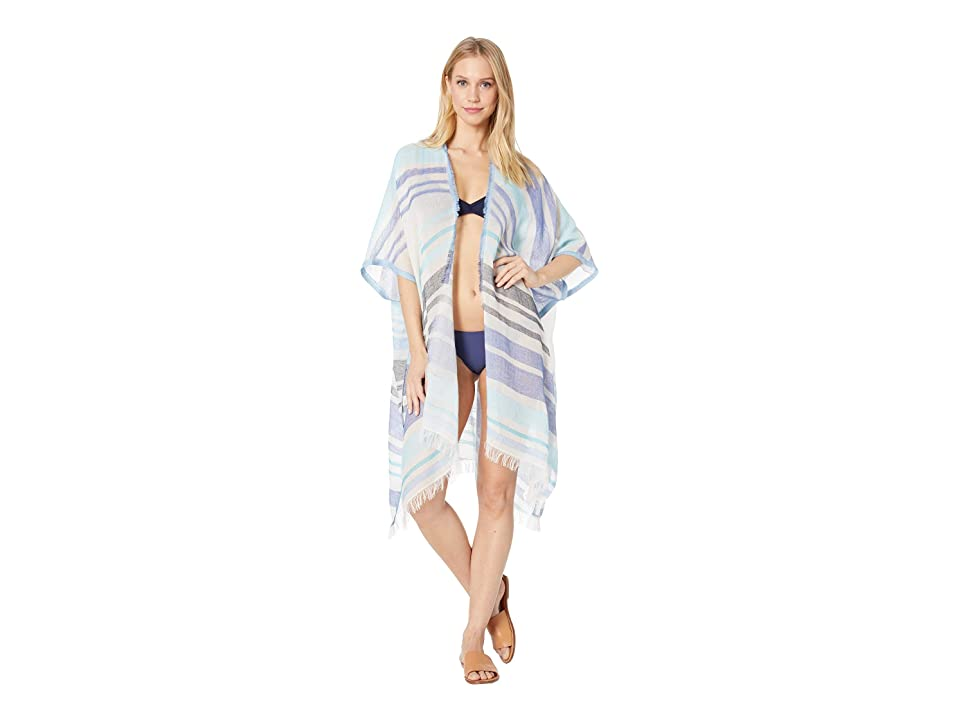 Echo Design Diagonal Stripe Cardigan (Sky) Women