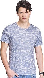 Mens Dry Fit Short Sleeve Camo T-Shirt