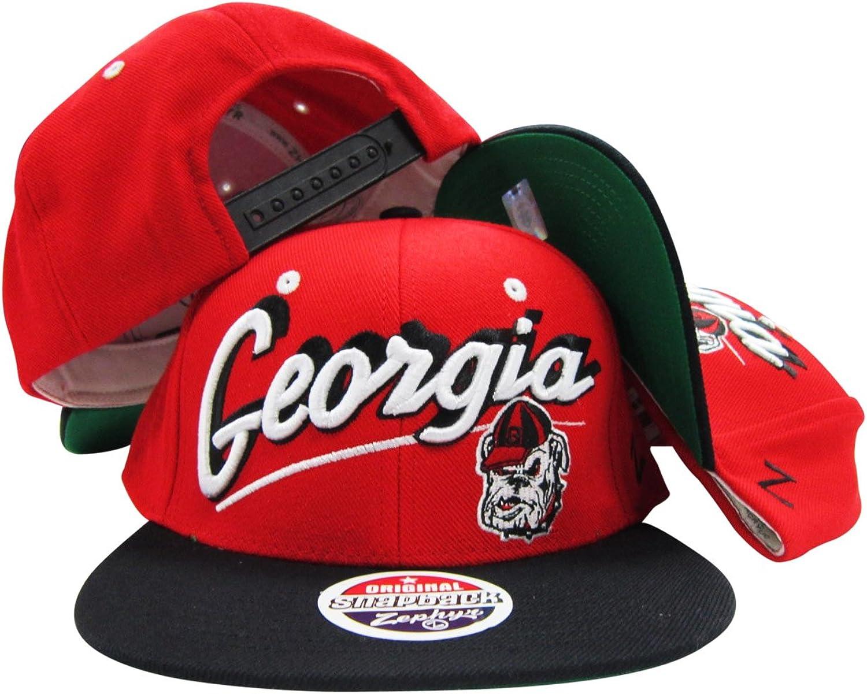 Georgia Bulldogs Adjustable Snapback Hat   Cap