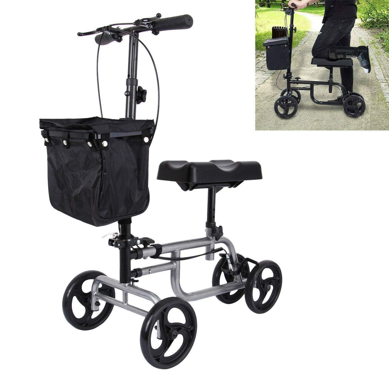 Yonntech Steerable Injuries Crutches Alternative