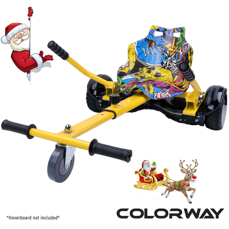 COLORWAY Aiento Kart para Hover Scooter Board de Equilibrio Automático Compatible con Scooter Electrico 6,5, 8 y 10 Pulgadas: Amazon.es: Deportes y aire libre