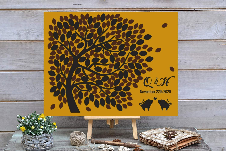 3D Love Tree In stock Wedding Guest Book Initial Ranking TOP9 Custom - Nam Alternative