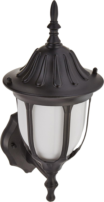 Max 65% OFF Trans Super intense SALE Globe Lighting 4040 BK Lantern Outdoo Traditional One Wall