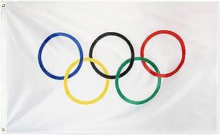 Olympischen Spiele 3 x 5 Fuß Flagge der Olympischen Ringe B