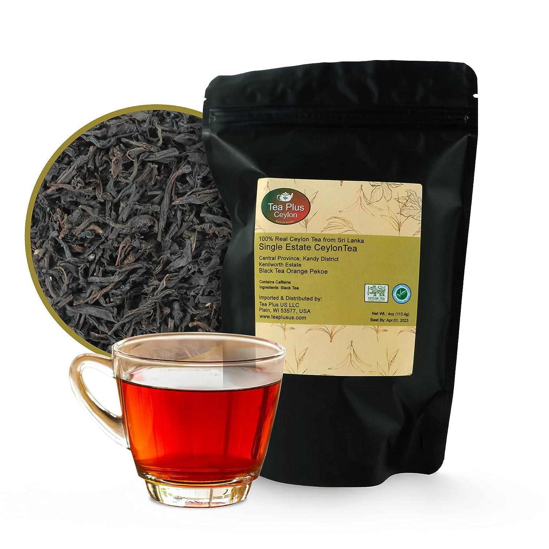 Tea Plus Us Super Special SALE held - Ceylon Black Lea All stores are sold Pekoe Loose Orange