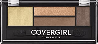 COVERGIRL Eye Shadow Quads Go For The Golds 705.06 oz (packaging may vary)