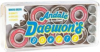 Andale Bearings Daewon Song Donuts Precision Skateboard Bearings