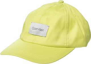 Calvin Klein Womens A9WH5358 Satin Baseball Hat Baseball Cap
