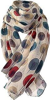 Leopard Print Warm Thicken Scarf Shawl Women Long Wool Shawl Soft Long Neck Scarfs