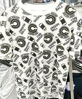 【Mサイズ メンズ】 ドラゴンボール カプセルコーポレーション 総柄 Tシャツ