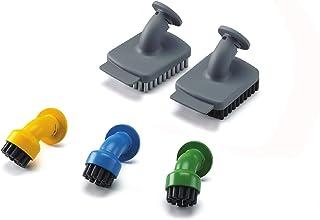 BLACK+DECKER Accessoires pour nettoyeur vapeur à main, 5 accessoires (2 brosses larges et 3 brosses rondes), Kit spécial c...