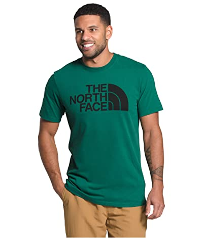 The North Face Short Sleeve Half Dome T-Shirt (Evergreen/TNF Black) Men