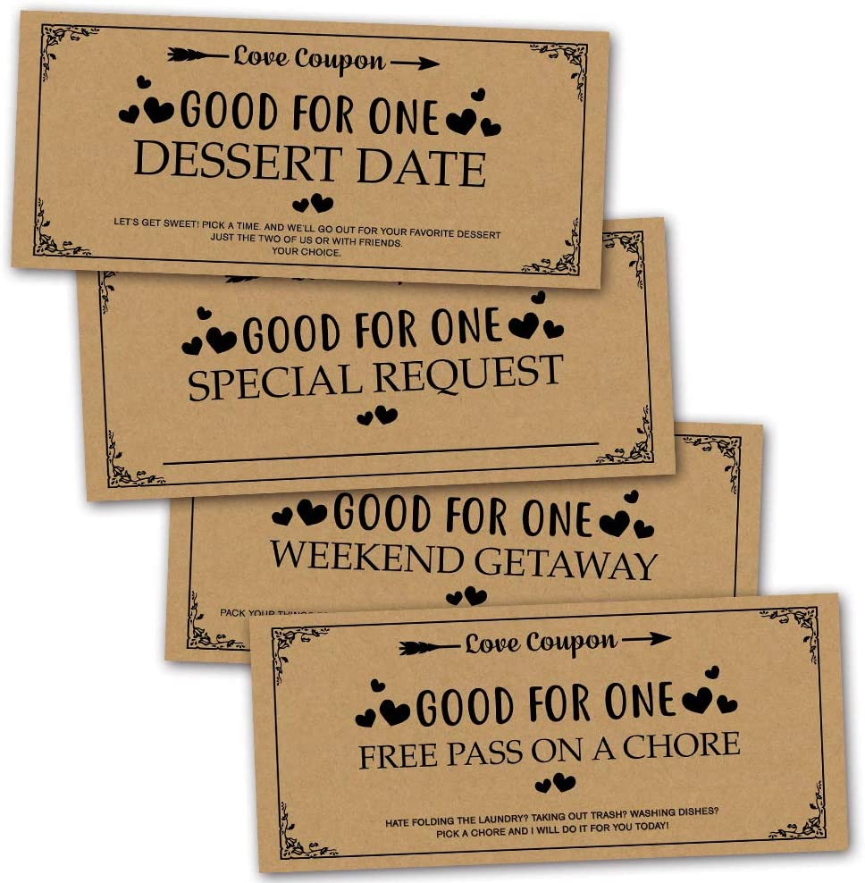 Valentines day coupons for him