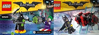 Lego Super Heroes DC Comics Batman the Movie in The Phantom Zone (30522) + (30523) The Joker Battle Training Lego Joker Mini Figure & mini Batman Figure DC Universe