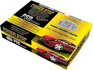 2008 Fits Hyundai Elantra GLS Front Ceramic Brake Pads with Hardware Kits and Two Years Manufacturer Warranty