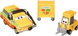 Disney Pixar Cars Character Rips Pitty & Crew Chief Vehicle, 2 Pack
