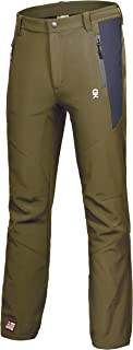 Little Donkey Andy Men's Winter Hiking Ski Snowboarding Pants, Softshell Pants, Fleece Lined and Water Repellant