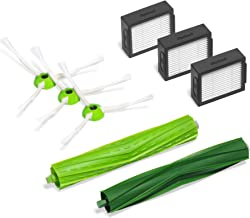 iRobot  Authentic Replacement Parts- Roomba e and i Series Replenishment Kit, (3 High-Efficiency Filters, 3 Edge-Sweeping Brushes, and 1 Set of Multi-Surface Rubber Brushes)