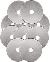 Rotary Cutter Blades 45mm 10 Pack by KISSWILL, Fits Fiskars, Olfa, Martelli, Dremel, Truecut, DAFA Rotary Cutter for Quilt...