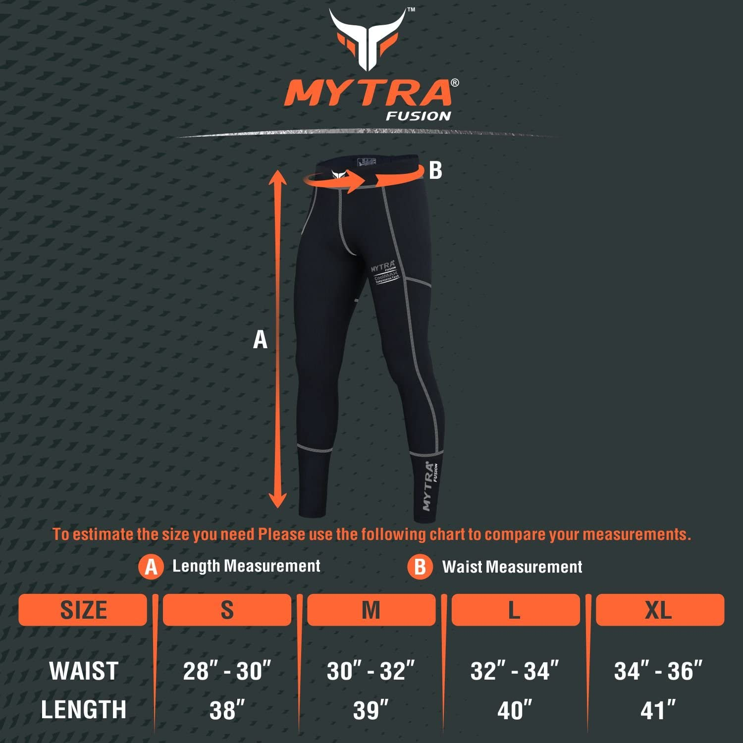 Mytra Fusion Compression Trouser Black Series Compression Tights Men Compression Tights Women Compression Yoga Pants Running Mens Compression Pants MMA Compression Pants Ladies Compression Leggings