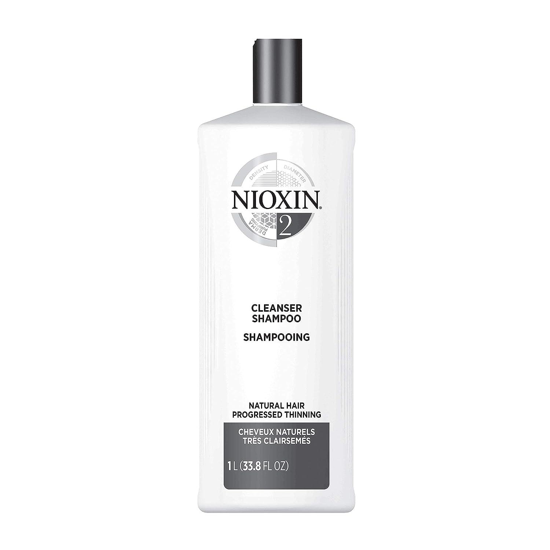 NIOXIN Sistemas 1/2/3/4/5 y 6 Paso 1 - Champú Antigrasa Limpiador - Elige tu tipo de Cabello