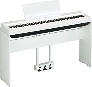 Yamaha P125 Digital Piano Deluxe Bundle with Furniture Stand
