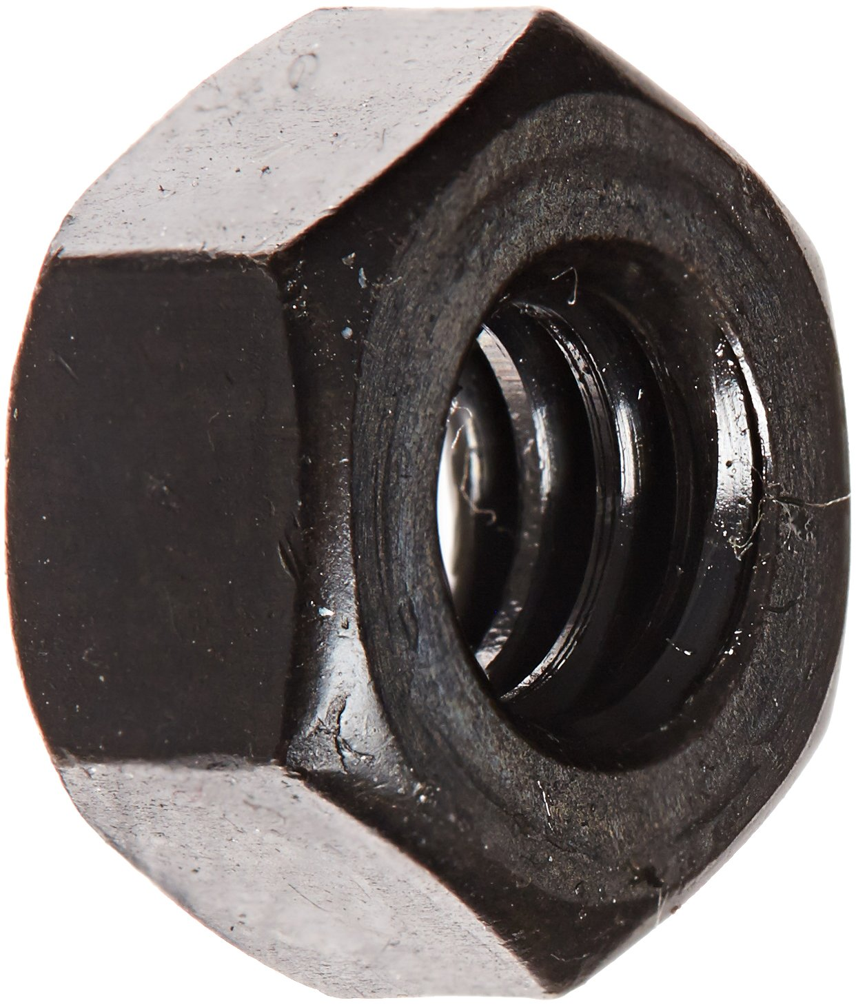 Plain Finish 5//16 Width Across Flats 18-8 Stainless Steel Hex Flange Nut 11//64 Overall Height Self-Locking Serrated Flange 6-32 Threads Meets ASME B18.2.2 Pack of 100