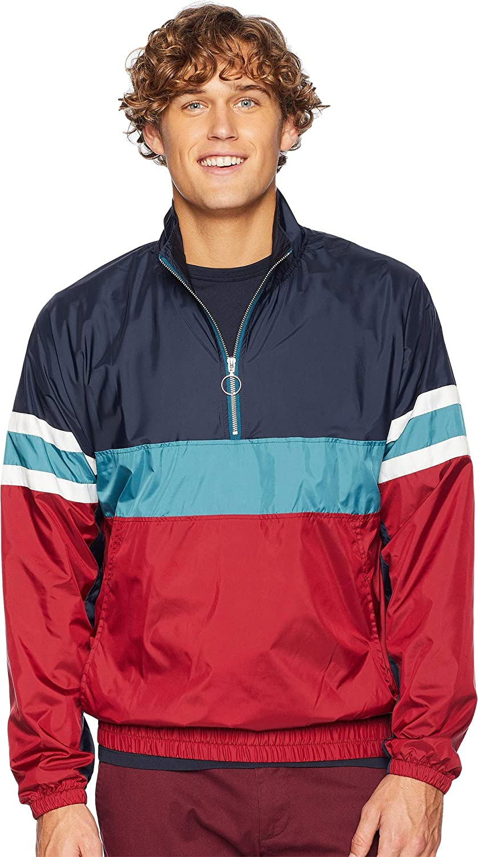 Original Penguin Max 72% OFF Max 46% OFF Men's Long Sleeve Popover Jacket