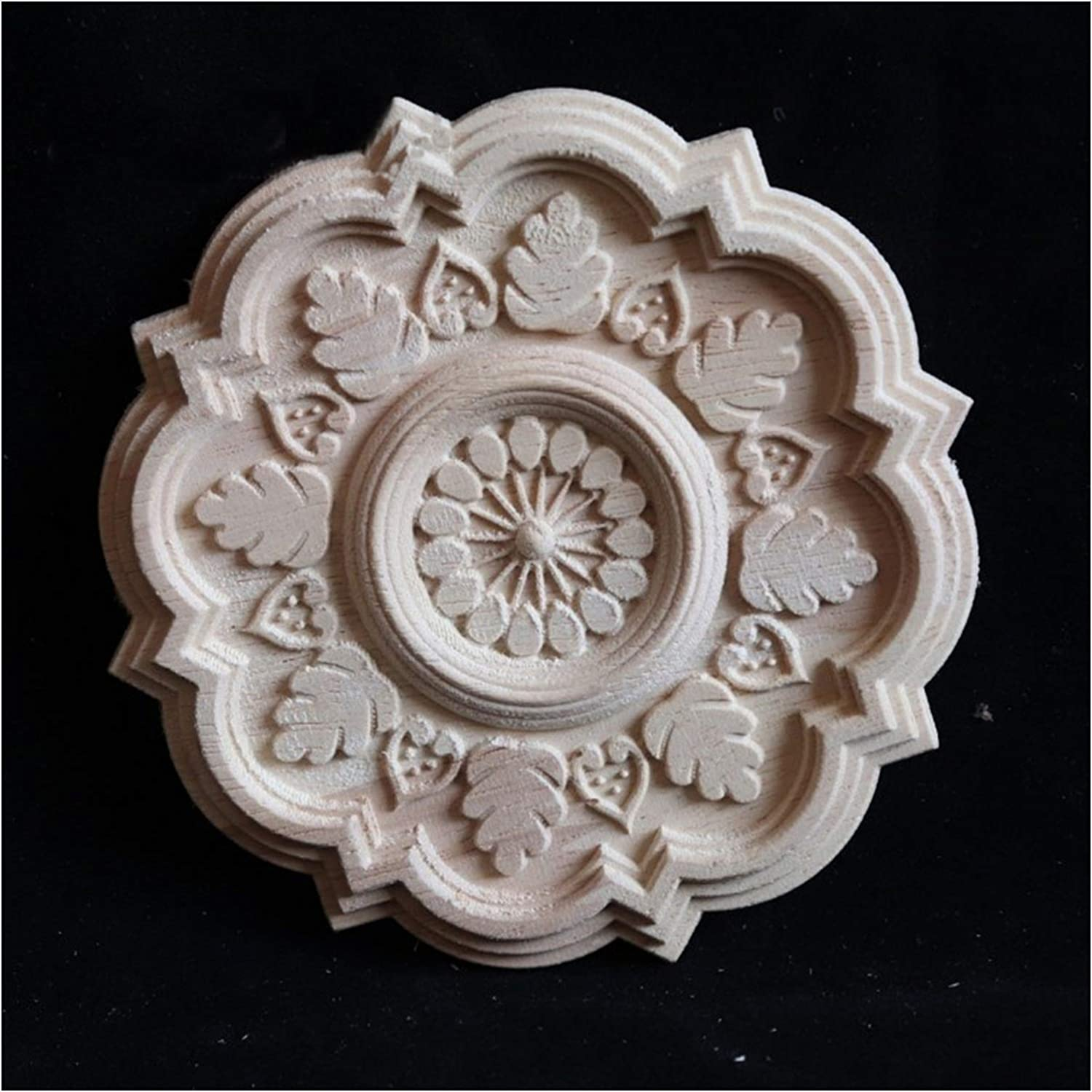 Furniture Free Shipping Cheap Bargain Gift Stickers 6Pcs Wooden Onlay for Ranking TOP20 Furnitur Appliques Home