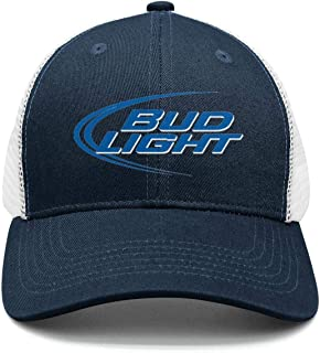1b6a313c7cd uter ewjrt Adjustable Bud-Light-Beer-Logo- Baseball Hats Dad Fashion Cap