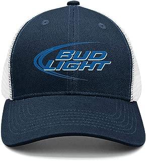 Adjustable Bud-Light-Beer-Logo- Baseball Hats Dad Fashion Cap