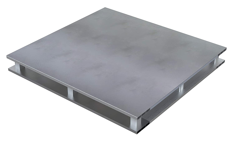 Vestil Heavy Duty Aluminum Pallet Virginia Beach Mall 4-Way 48X48 Special sale item Solid Top