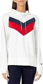 Women's Premium Performance Long Sleeve Fleece Pullover Sweatshirt