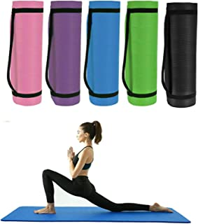 Details about  /15mm Home Thick Yoga Mat Gym Workout Fitness Pilates Exercise Mat 60cm x 25cm