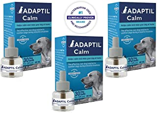 Adaptil Calm Home Diffuser Refill for Dogs, 3 Pack of 30 Day Refills