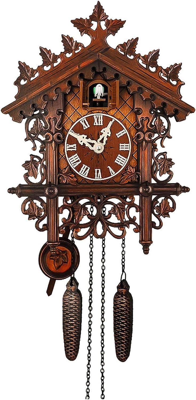 40% OFF Popular brand Cheap Sale Garden Clock Outdoor Wall Wooden Cr Cuckoo