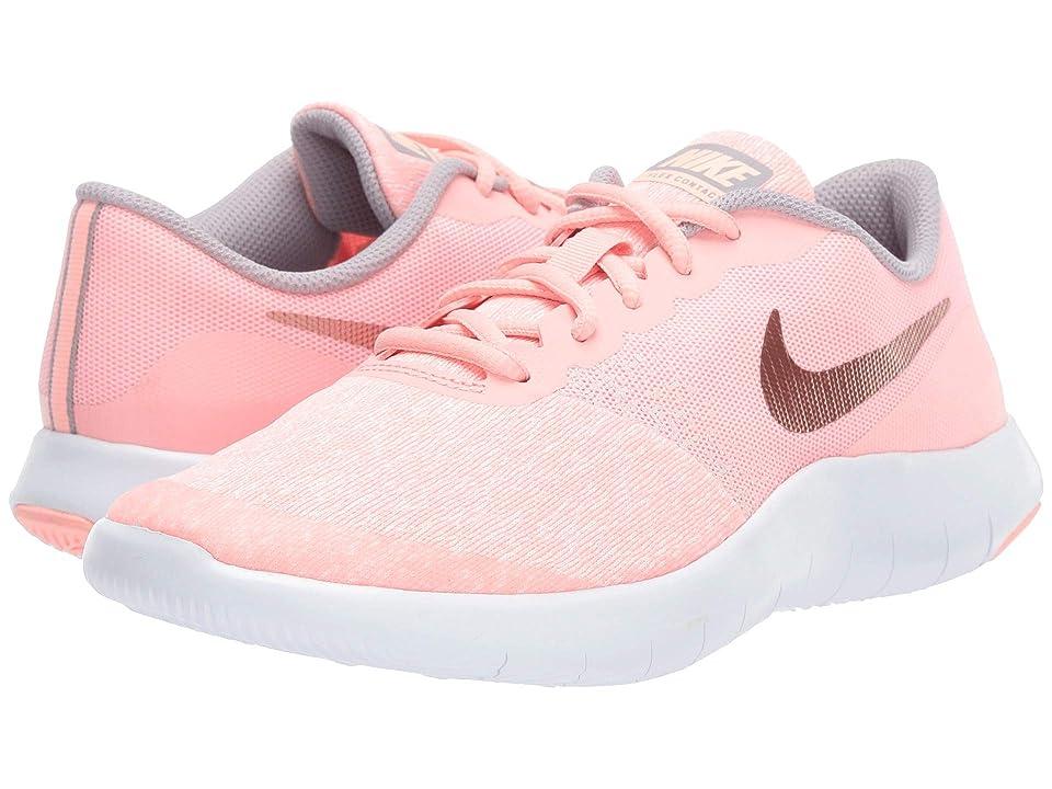 Nike Kids Flex Contact (Big Kid) (Pink Tint/Rose Gold/Storm Pink) Girls Shoes