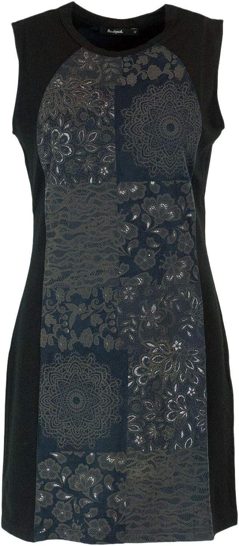 Desigual Women's 18WWVW70BLACK Black Polyester Dress