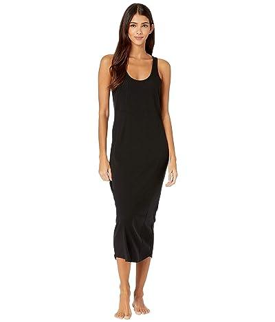Skin Narissa Pima and Modal Tank Dress (Black) Women