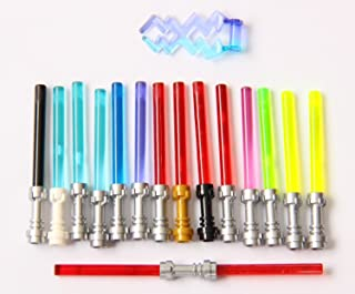 LEGO Star Wars Lightsaber Rare Colors and Metallic Hilts (15 Total Including Trans-Green)