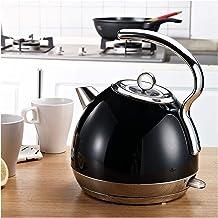 JingyanBH Elektrische waterkoker, roestvrij staal, automatische kooktoestel, 1,8 l, 1800 W, Boop, droogbescherming, elektr...