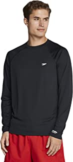 Speedo Men's Uv Swim Shirt Easy Long Sleeve Regular Fit