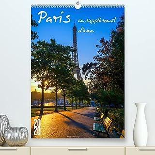 Paris, ce supplément d'âme (Premium, hochwertiger DIN A2 Wandkalender 2022, Kunstdruck in Hochglanz): Paris pour accompagn...