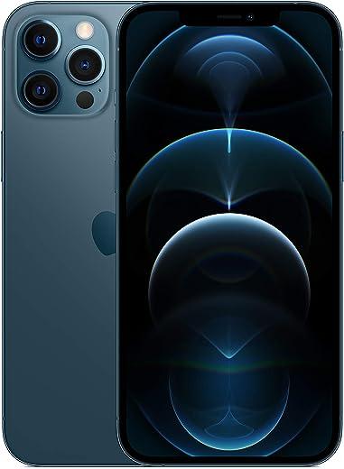 هاتف ابل ايفون 12 برو ماكس الجديد مع فيس تايم (128 جيجا) - ازرق