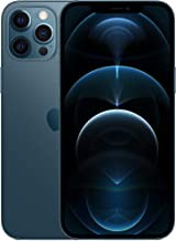 New Apple iPhone 12 Pro Max (128GB, Pacific Blue) [Locked] + Carrier Subscription