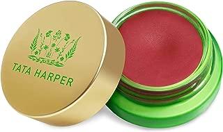 Tata Harper Volumizing Lip and Cheek Tint - Very Naughty   100% Natural & Nontoxic   Ruby Red Cheek & Lip Tint   4.5g